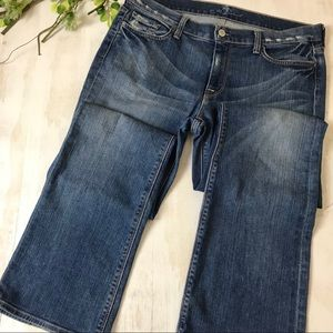 7 For All Mankind High Waist Bootcut Jeans Size 32